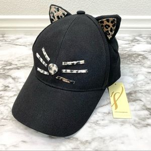 Collection 18 Kitty Cat Ears Hat Leopard Print